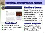 regulatory sec mmf reform proposal