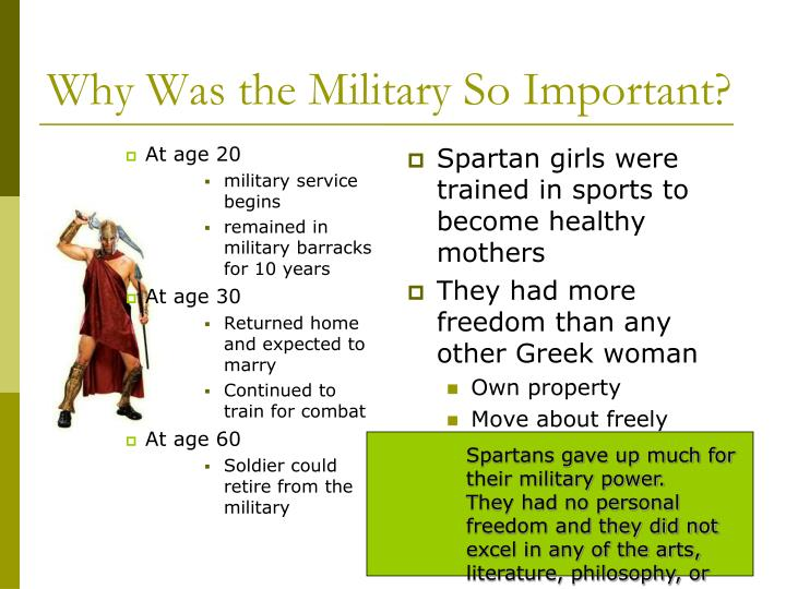 Why Was the Military So Important?