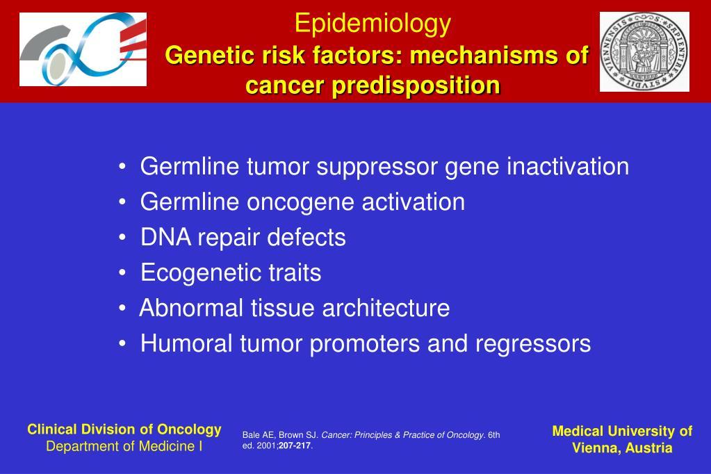 Ppt Cancer Epidemiology Powerpoint Presentation Id 7024607