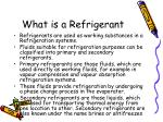 what is a refrigerant