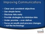 improving communications