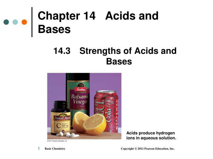 chapter 14 acids and bases n.