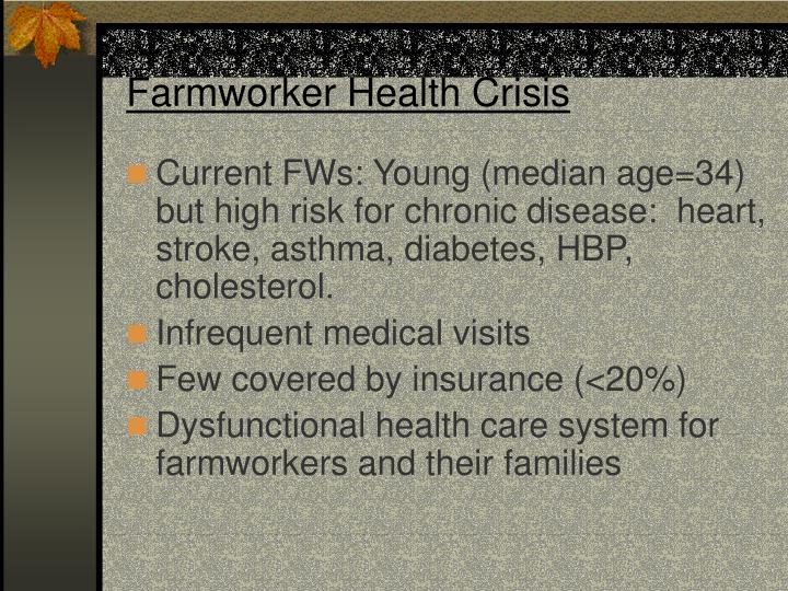 Farmworker Health Crisis