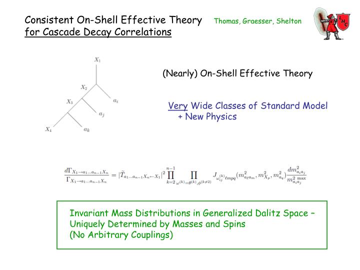 Consistent On-Shell Effective Theory