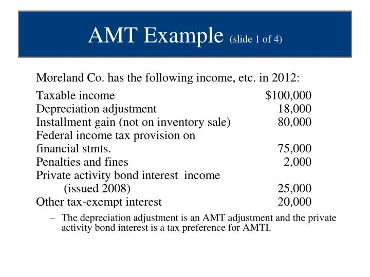 Moreland Co. has the following income, etc. in 2012:
