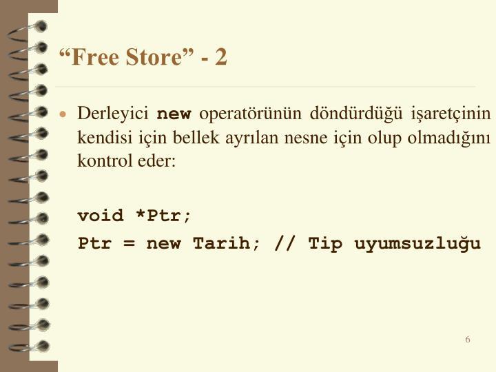 """Free Store"" - 2"