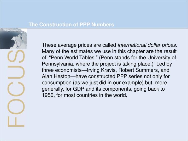 The Construction of PPP Numbers
