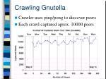 crawling gnutella