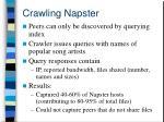crawling napster