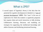 what is zpd