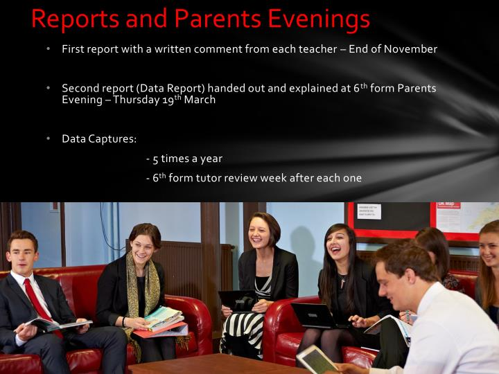 Reports and Parents Evenings