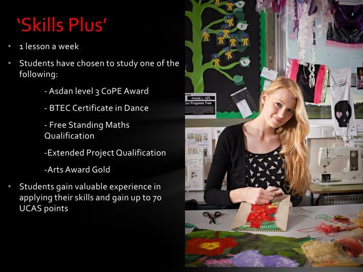 'Skills Plus'