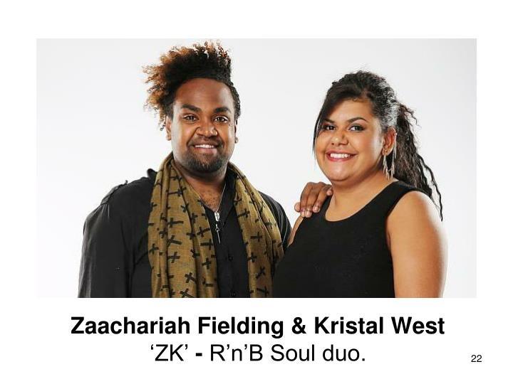 Zaachariah Fielding & Kristal West