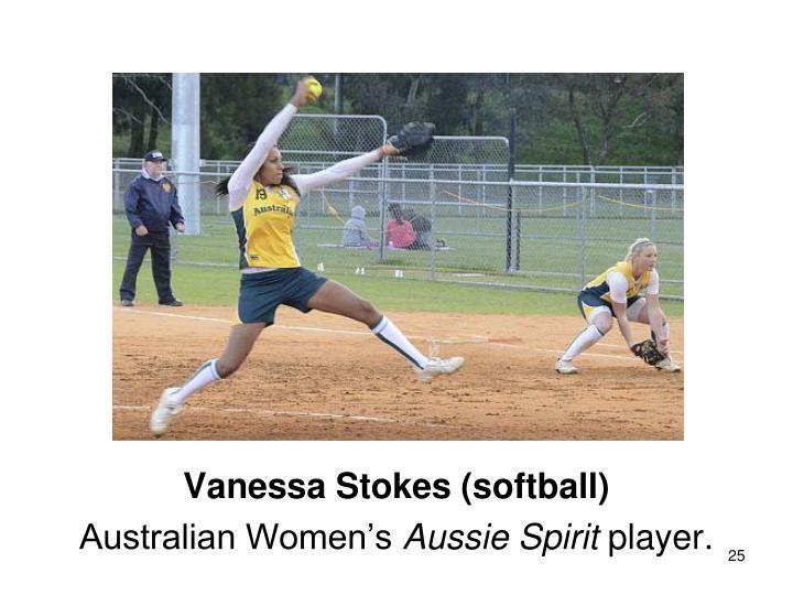 Vanessa Stokes (softball)