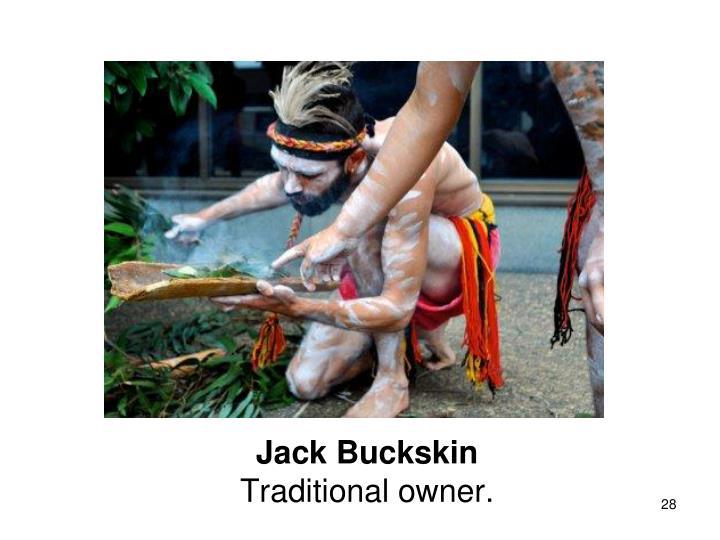 Jack Buckskin