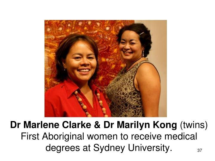 Dr Marlene Clarke & Dr Marilyn Kong