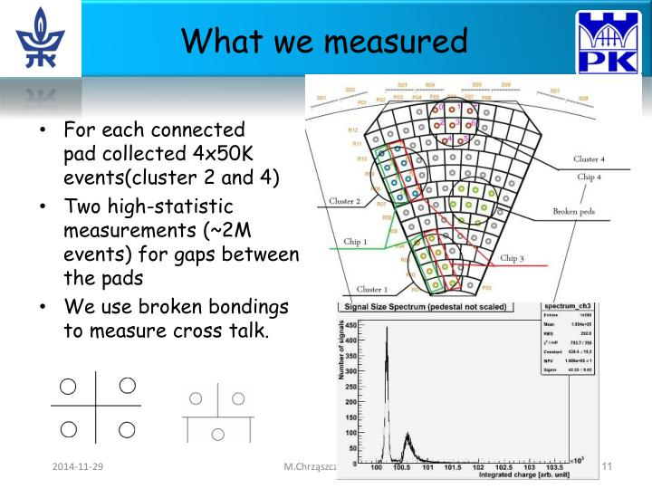 What we measured