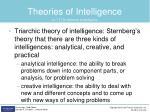 theories of intelligence2