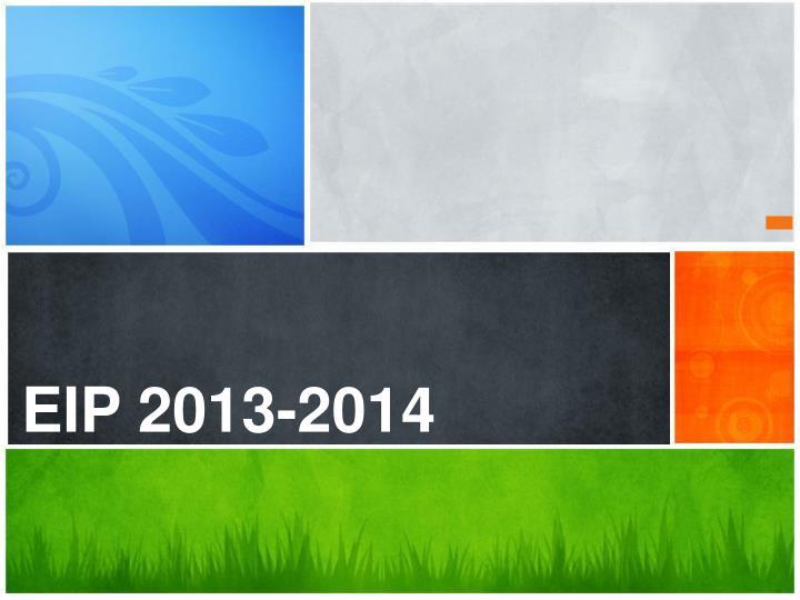 EIP 2013-2014