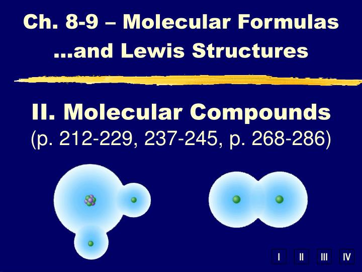ch 8 9 molecular formulas and lewis structures n.