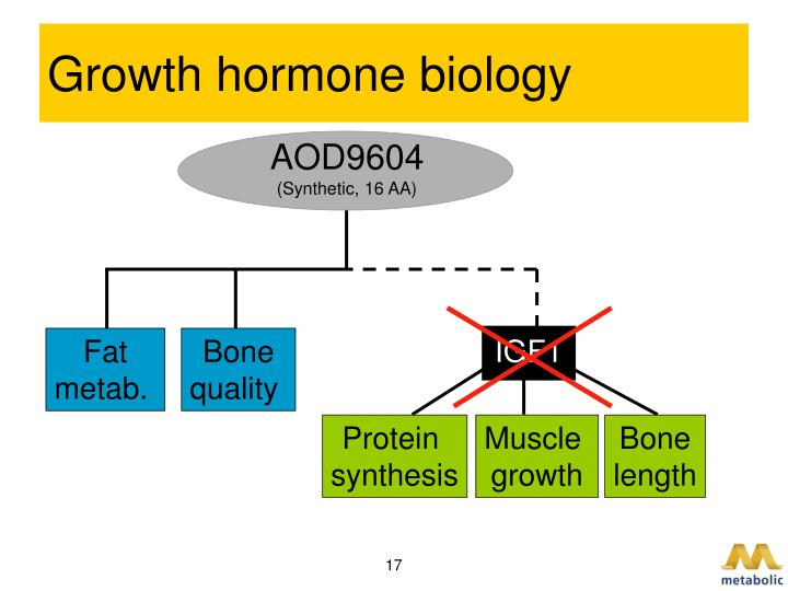 Growth hormone biology