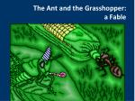 the ant and the grasshopper a fable