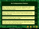 an independent nation