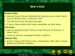 war s end