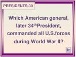 presidents 301
