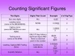 counting significant figures