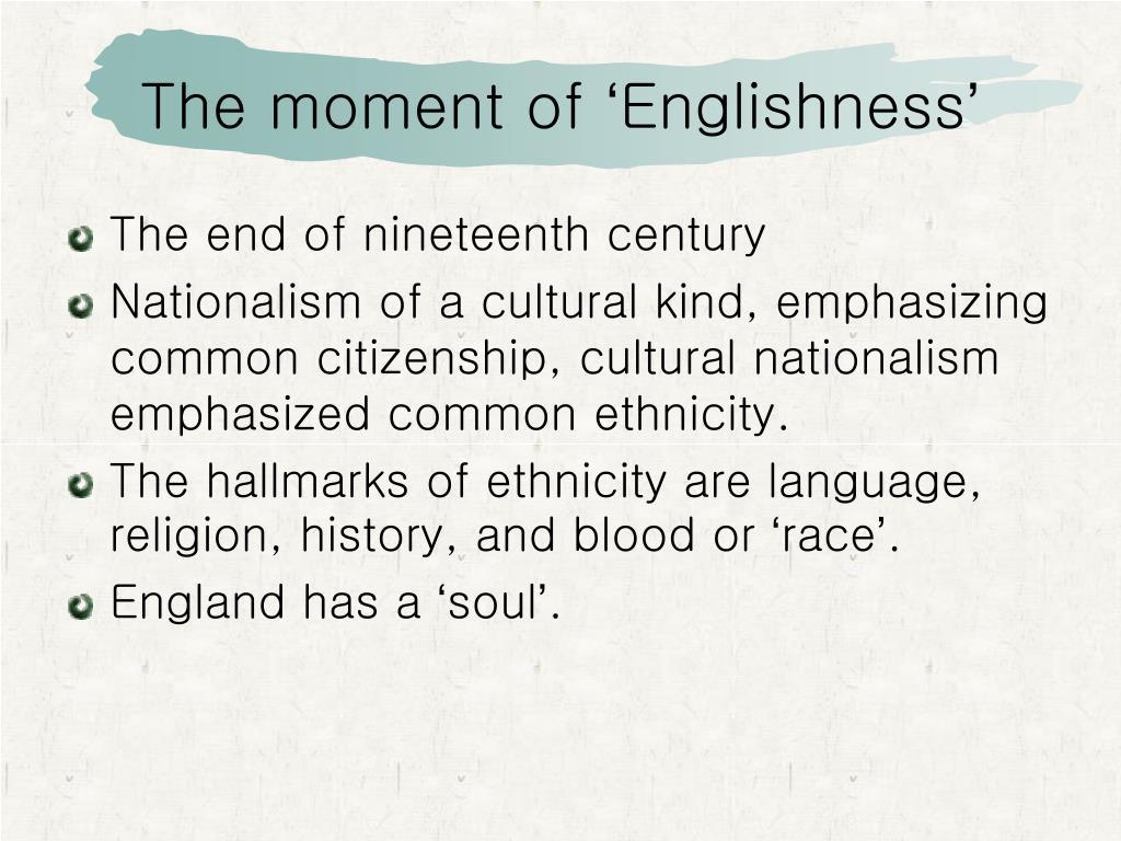 PPT - Britishness/ Englishness PowerPoint Presentation ...