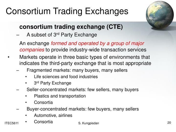 Consortium Trading Exchanges