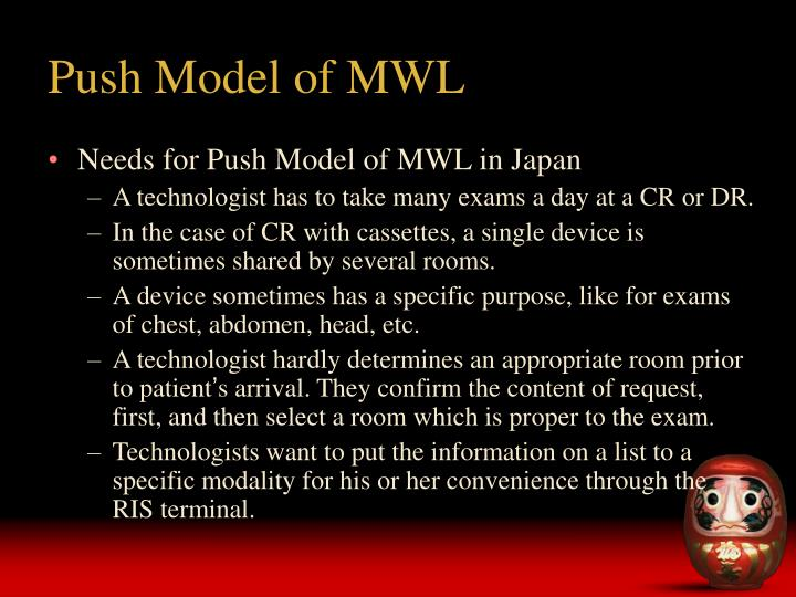 Push model of mwl