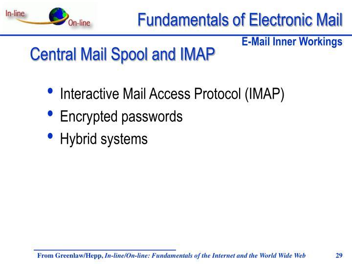 Interactive Mail Access Protocol (IMAP)