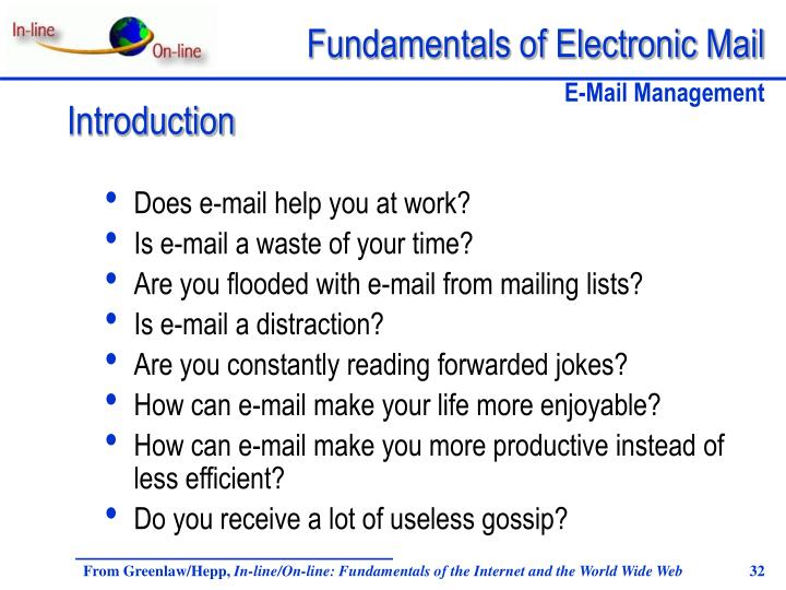 Does e-mail help you at work?