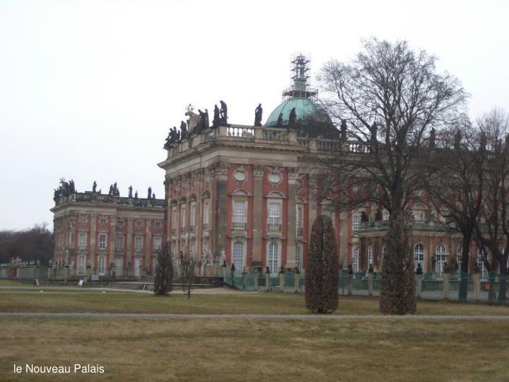 le Nouveau Palais