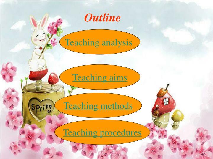 Teaching analysis