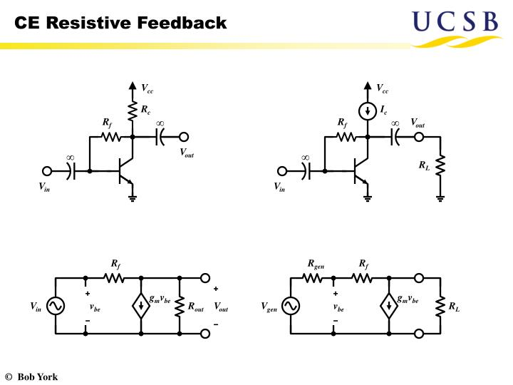 CE Resistive Feedback