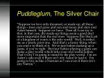 puddleglum the silver chair