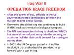 iraq war ii