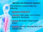 nervous and endocrine systems6