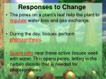 responses to change2