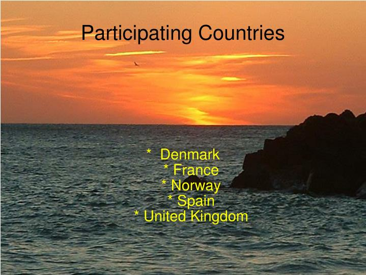 Denmark france norway spain united kingdom