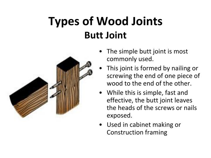 Ppt Woodworking Joints Powerpoint Presentation Id 7029824