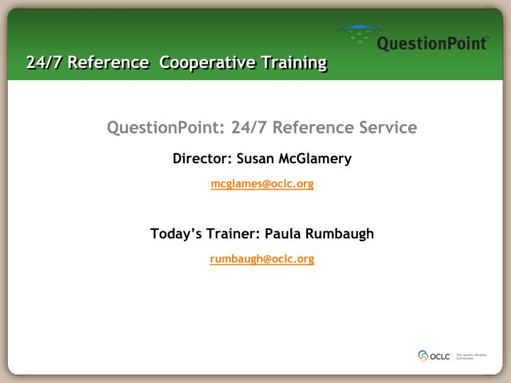 24 7 reference cooperative training n.