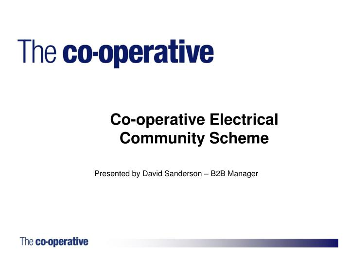 Co-operative Electrical