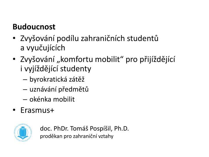 doc. PhDr. Tomáš Pospíšil, Ph.D.