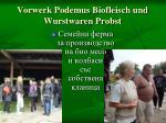 vorwerk podemus biofleisch und wurstwaren probst