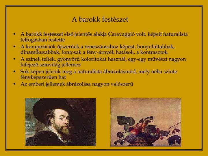 A barokk festészet