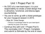 unit 1 project part 10